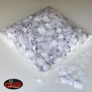 方形紙片-白色