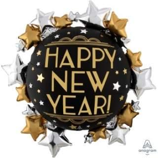 LRG: 星星環繞新年球