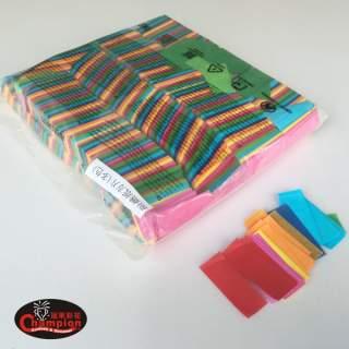 長方形紙片-綜合色