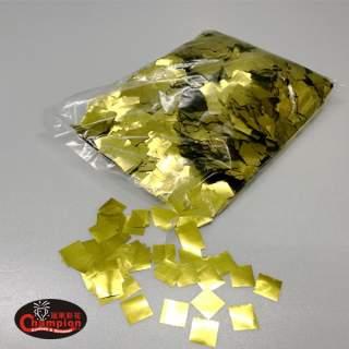 金色方形電化鋁亮片