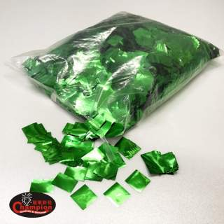 綠色方形電化鋁亮片