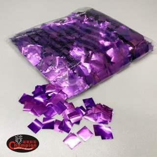 紫色方形電化鋁亮片