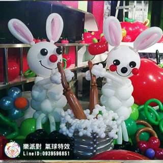 中秋節月兔子搗藥造型